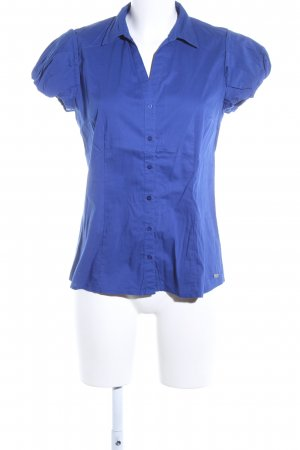 s.Oliver Schlupf-Bluse blau Casual-Look