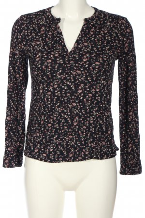 s.Oliver Schlupf-Bluse Blumenmuster Casual-Look