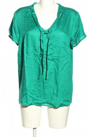 s.Oliver Tie-neck Blouse green casual look
