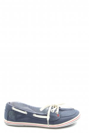 s.Oliver Lace-Up Sneaker blue casual look