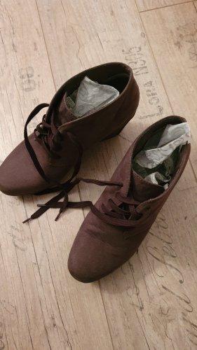 Fashion hero for s.Oliver Bottines à lacets marron clair