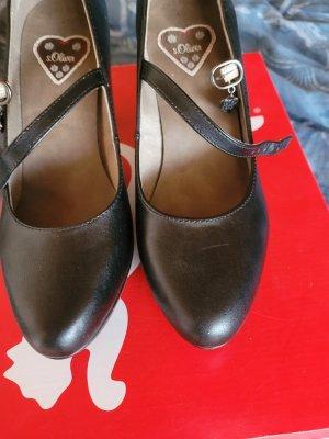 s.Oliver High Heels dark blue