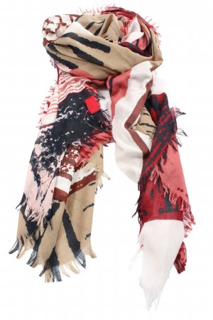 s.Oliver Shoulder Scarf abstract pattern casual look