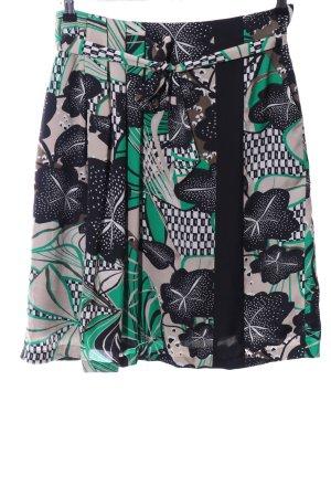 s.Oliver Zijden rok bloemenprint casual uitstraling
