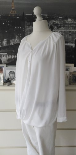s.Oliver Wraparound Blouse white