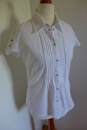 s.Oliver Selection Bluse Kurzarm Gr.34 weiß