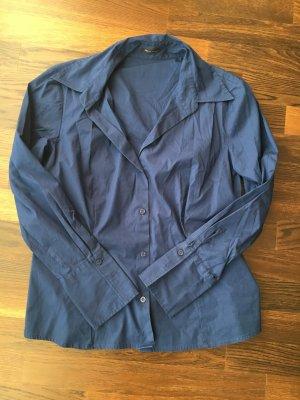 S.Oliver Selection Bluse langarm, dunkelblau, Gr. 42 wie Neu