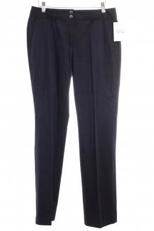 s.Oliver SELECTION Bundfaltenhose dunkelblau Business-Look