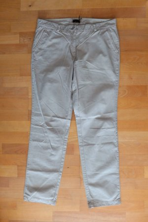 s.Oliver Selection Hose Chino Eve Easy Fit 7/8 beige Gr. 40 L