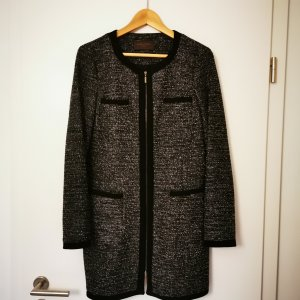 s.Oliver Selection Frock Coat black-silver-colored