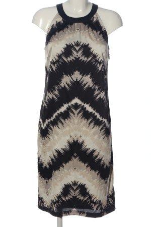 s.Oliver Selection Vestido de cuello Halter estampado con diseño abstracto