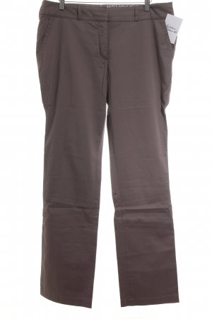 s.Oliver SELECTION Stoffhose hellbraun Business-Look
