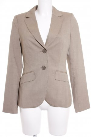 s.Oliver Tweedblazer beige meliert Business-Look