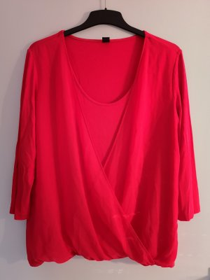 s.Oliver Lang shirt rood