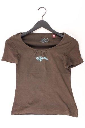 s.Oliver Shirt braun Größe 36