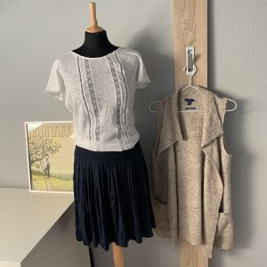 s.Oliver Crochet Shirt white