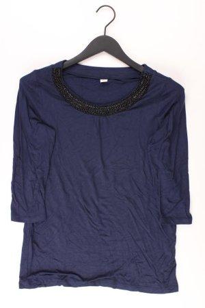 s.Oliver Shirt Größe 36 3/4 Ärmel mit Pailletten blau