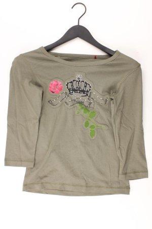 s.Oliver Shirt Größe 36 3/4 Ärmel olivgrün aus Baumwolle
