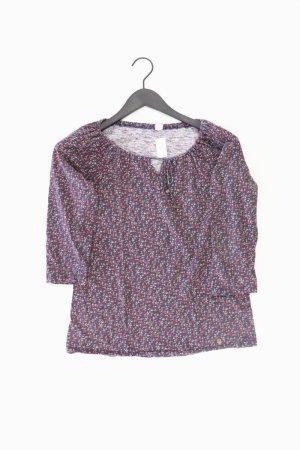 s.Oliver Shirt Größe 38 mit Blumenmuster mehrfarbig