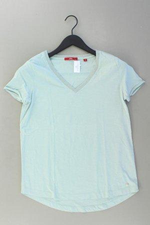 s.Oliver Shirt Größe 38 türkis aus Baumwolle