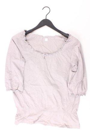 s.Oliver Shirt Größe 40 3/4 Ärmel grau aus Baumwolle