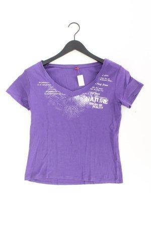 s.Oliver Shirt Größe 40 lila aus Baumwolle