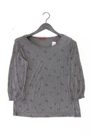 s.Oliver Shirt Größe 42 3/4 Ärmel grau aus Viskose