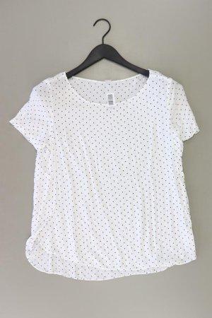 s.Oliver Shirt Größe M geometrisches Muster weiß