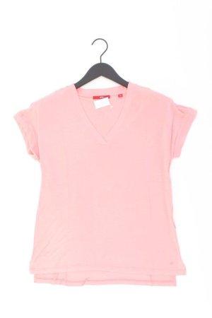 s.Oliver Shirt mit V-Ausschnitt Größe 38 Kurzarm rosa