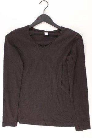 s.Oliver Shirt mit V-Ausschnitt Größe 40 Langarm braun
