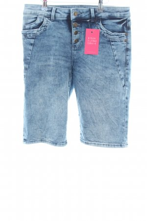 s.Oliver Shorts blau Business-Look