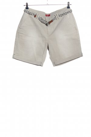s.Oliver Shorts silberfarben Casual-Look