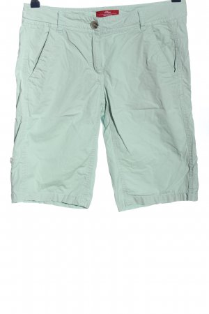 s.Oliver Shorts grün Casual-Look