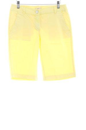 s.Oliver Shorts blassgelb Casual-Look