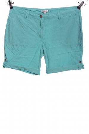 s.Oliver Shorts türkis Casual-Look