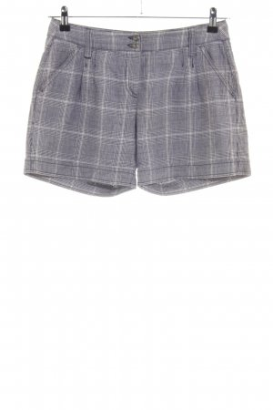 s.Oliver Shorts hellgrau-wollweiß Allover-Druck Casual-Look