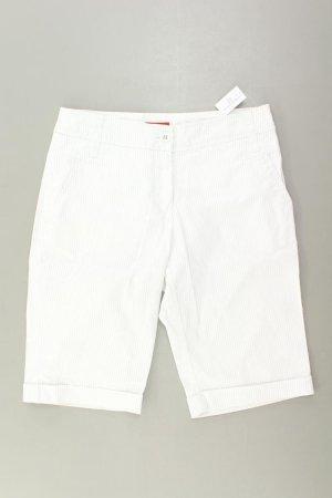 s.Oliver Shorts Größe 34 weiß aus Baumwolle