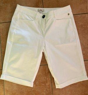 s.Oliver, Shorts, kurze Hose, weiß, Damen, Größe 36, Bermuda