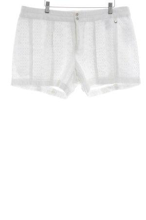 s.Oliver Shorts weiß Street-Fashion-Look