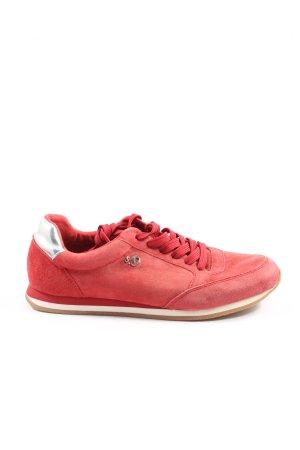 s.Oliver Buty skaterskie czerwony W stylu casual
