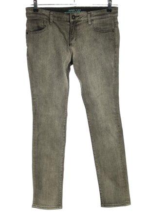 s.Oliver Skinny Jeans schwarz-blassgelb Casual-Look