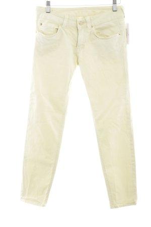s.Oliver Skinny Jeans blassgelb Casual-Look