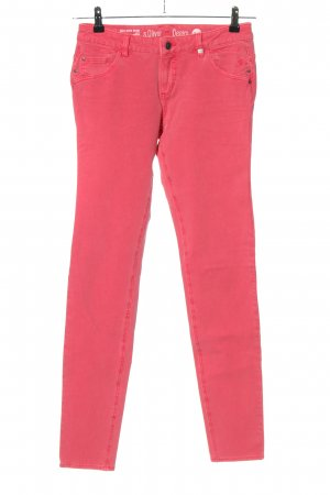 s.Oliver Skinny Jeans pink Casual-Look