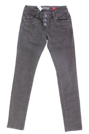 s.Oliver Skinny Jeans Größe 34 schwarz aus Baumwolle