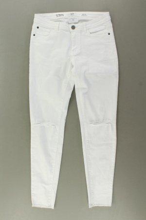 s.Oliver Skinny Jeans Größe 36 weiß aus Baumwolle