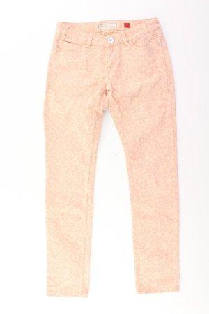 s.Oliver Skinny Jeans Größe 38 mit Tierdruck pink aus Baumwolle