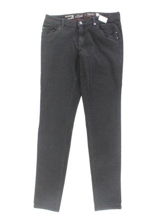 s.Oliver Skinny Jeans Größe 40 schwarz aus Baumwolle