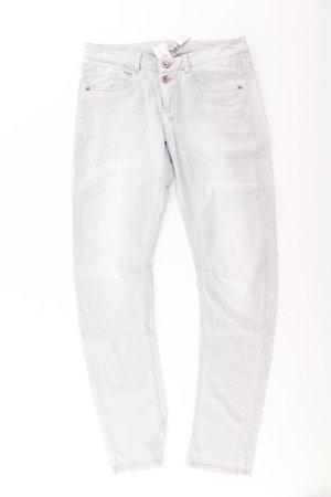 s.Oliver Skinny Jeans Größe M grau aus Baumwolle