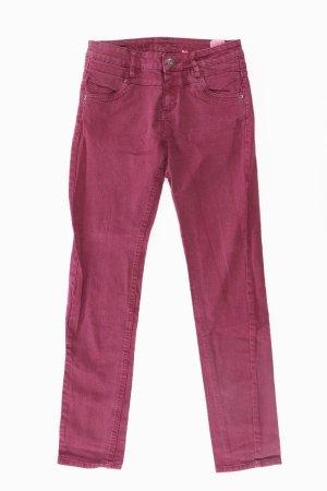 s.Oliver Skinny Jeans Größe W34/L32 lila aus Baumwolle