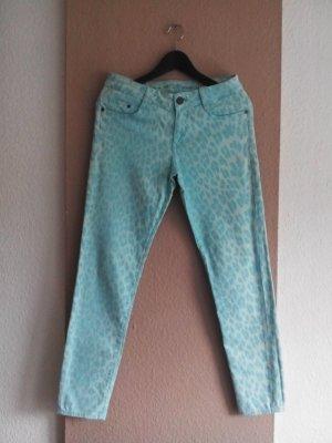 s. Oliver Skinny Jeans in Animalprint, Größe 36